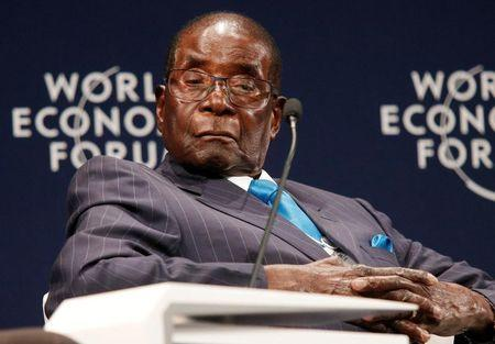 Is Mugabe sleeping in meetings?