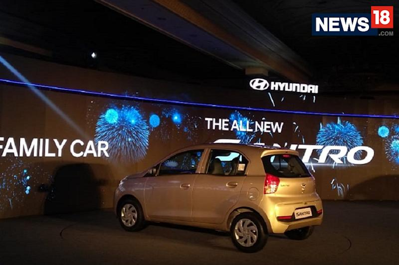 New Hyundai Santro launched in India. (Image: Arjit Garg/News18.com)