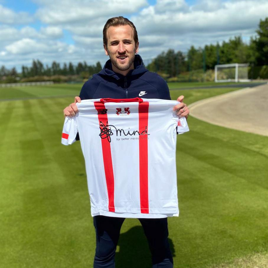 England captain Harry Kane has bought the sponsorship rights to Leyton Orient's three 2020/21 kits