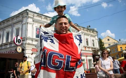 As many 10,000 England fans are now expected to travel to Russia - Credit: Reuters