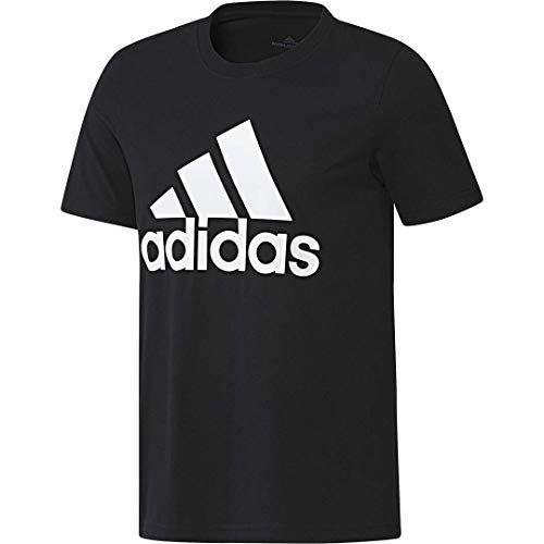 """<p><strong>adidas</strong></p><p>amazon.com</p><p><strong>$18.75</strong></p><p><a href=""""https://www.amazon.com/dp/B07KSJLQWK?tag=syn-yahoo-20&ascsubtag=%5Bartid%7C10054.g.36791822%5Bsrc%7Cyahoo-us"""" rel=""""nofollow noopener"""" target=""""_blank"""" data-ylk=""""slk:BUY IT HERE"""" class=""""link rapid-noclick-resp"""">BUY IT HERE</a></p><p>Wear your love for Adidas on your sleeve with this logo-centric tee.</p>"""