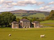 """<p>Deep in Yorkshire's rolling hill, West Of Eden is a beautiful period property with large, open grounds, an outdoor firepit and planety of space to fit the whole family round the table. </p><p><strong>Guests: </strong>Up to 10</p><p><strong>Pricing: </strong>From £911 per night</p><p><a class=""""link rapid-noclick-resp"""" href=""""https://go.redirectingat.com?id=127X1599956&url=https%3A%2F%2Fwww.plumguide.com%2Fhomes%2F28515%2Fwest-of-eden%3Fguests%3D11&sref=https%3A%2F%2Fwww.countryliving.com%2Fuk%2Ftravel-ideas%2Fstaycation-uk%2Fg35804522%2Fgroup-accommodation-holiday-homes-uk%2F"""" rel=""""nofollow noopener"""" target=""""_blank"""" data-ylk=""""slk:BOOK NOW"""">BOOK NOW</a></p>"""