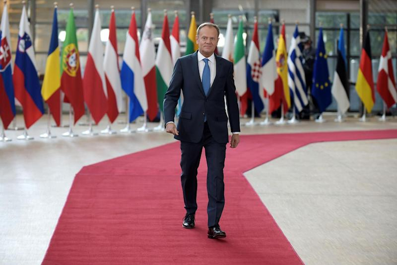 Summit: President of the European Council Donald Tusk: AFP/Getty Images