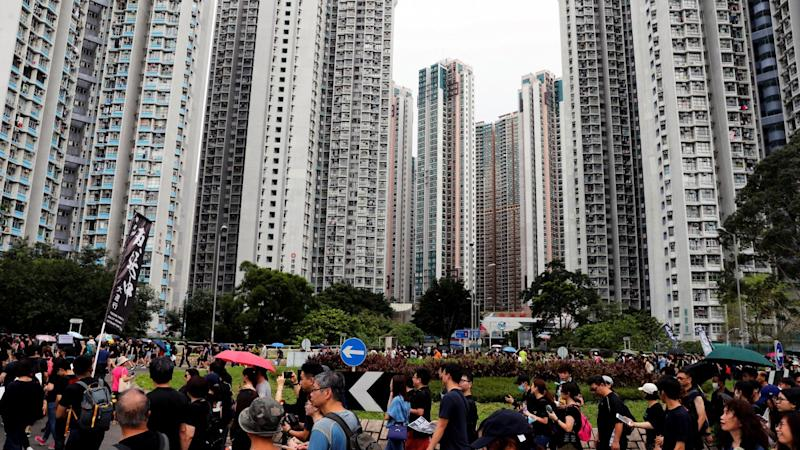 Hong Kong's lived-in home prices see steepest decline of the year as protests, trade war persist