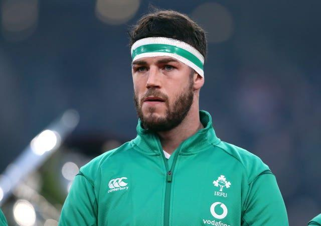 Caelan Doris will miss Ireland's Six Nations opener