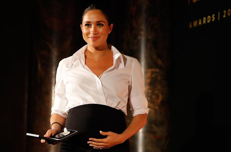 """<p>Meghan Markle opened up about her <a href=""""https://people.com/royals/meghan-markle-reveals-she-suffered-a-miscarriage-in-july-an-almost-unbearable-grief/"""" rel=""""nofollow noopener"""" target=""""_blank"""" data-ylk=""""slk:own miscarriage"""" class=""""link rapid-noclick-resp"""">own miscarriage</a> in November for the <em>New York Times</em>, writing that """"it was a July morning that began as ordinarily as any other day.""""</p> <p>However, the wife of Prince Harry realized while changing 1-year-old son Archie's diaper that something was wrong.</p> <p>""""I felt a sharp cramp. I dropped to the floor with him in my arms, humming a lullaby to keep us both calm, the cheerful tune a stark contrast to my sense that something was not right,"""" she said. """"I knew, as I clutched my firstborn child, that I was losing my second.""""</p> <p>The Duchess of Sussex added, """"Losing a child means carrying an almost unbearable grief, experienced by many but talked about by few.""""</p>"""