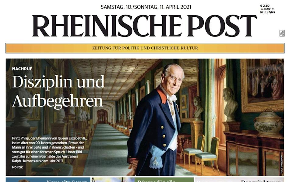 Rheinische Post, the German newspaper