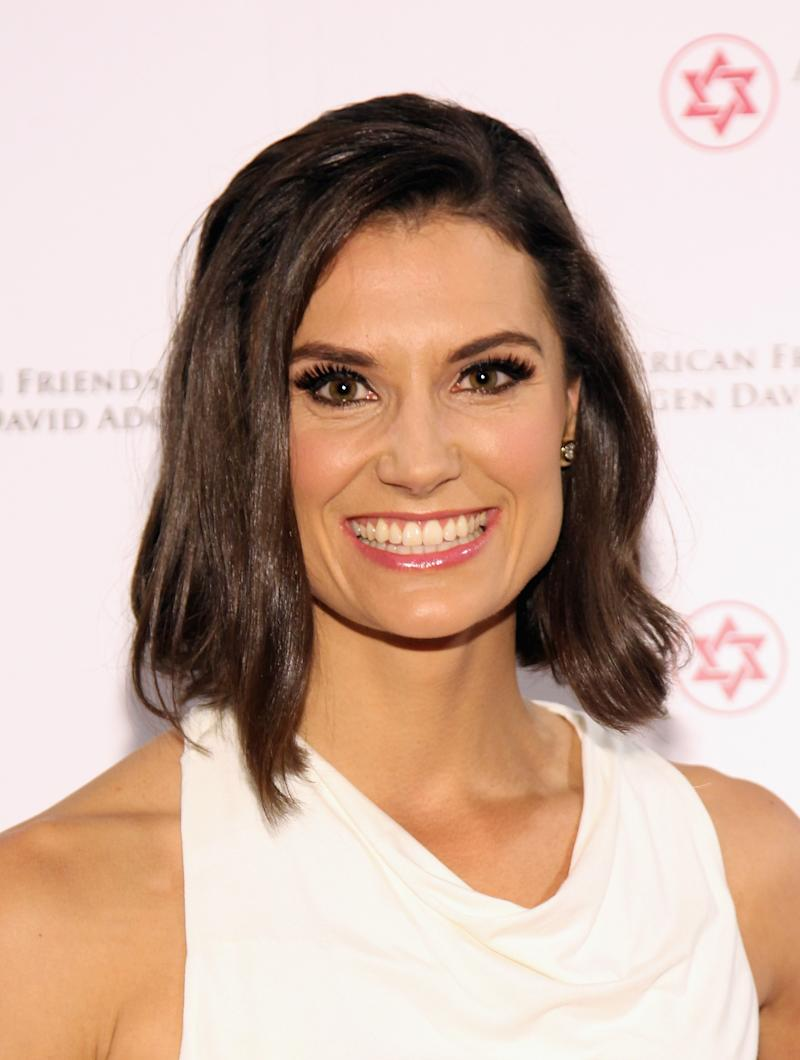 NEW YORK, NY - DECEMBER 02: Emcee, MSNBC News host Krystal Ball attends AFMDA Red Star Gala at The Grand Hyatt New York on December 2, 2015 in New York City. (Photo by Bennett Raglin/Getty Images for AFMDA)