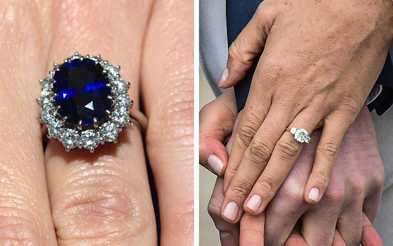 Kate Middleton Wedding Ring.How Meghan Markle S Engagement Ring Compares To Kate Middleton S