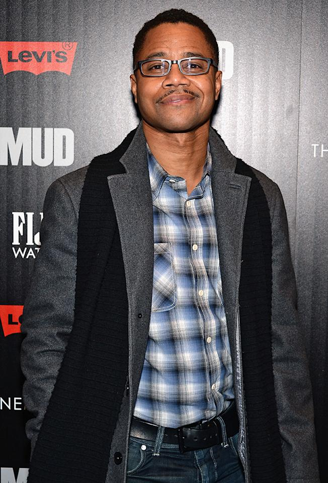 "Cuba Gooding Jr. attends the Cinema Society with FIJI Water & Levi's screening of ""Mud"" at The Museum of Modern Art on April 21, 2013 in New York City."