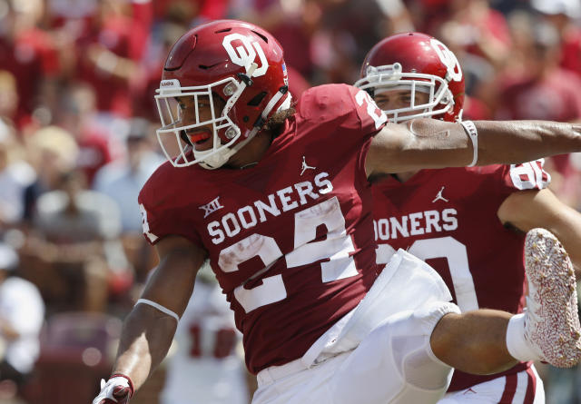 Oklahoma RB Rodney Anderson declares for NFL draft