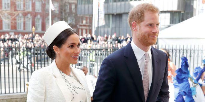 Meghan Markle and Prince Harry. Image via Getty Images.