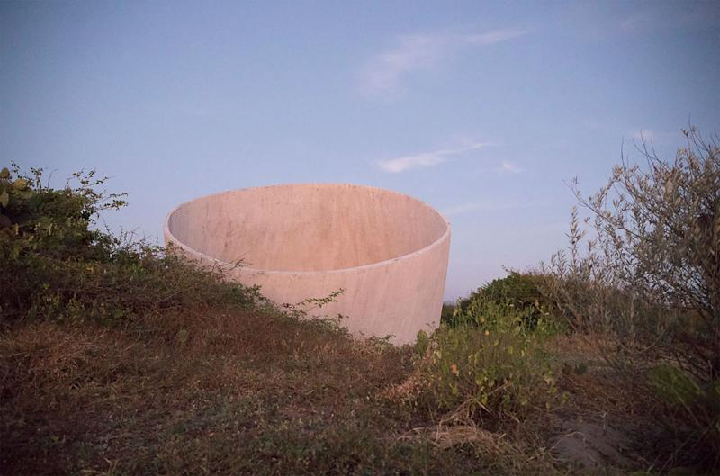 The Observatory on the property, which is for meditation and deep reflection, was created by Tadao Ando.