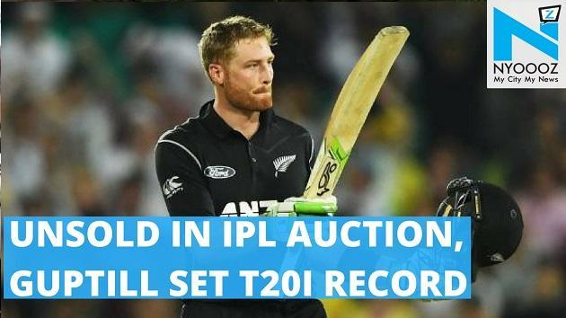 The man who went unsold in the Indian Premier League auction, Martin Guptill smashed a sublime 105 off just 54 deliveries, scoring a century off 49 deliveries, one less than the previous Kiwi record held by former captain Brendon McCullum.