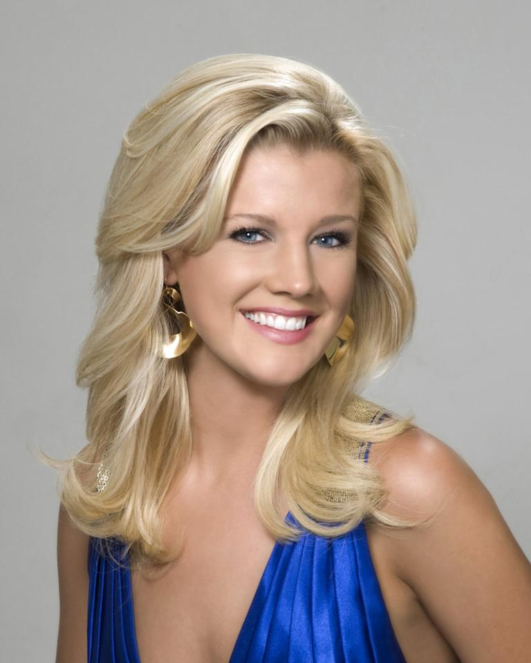 "Miss Nebraska, Gretchen Bergquist, is a contestant in the <a href=""/miss-america-countdown-to-the-crown/show/44013"">Miss America 2009 Pageant</a>."
