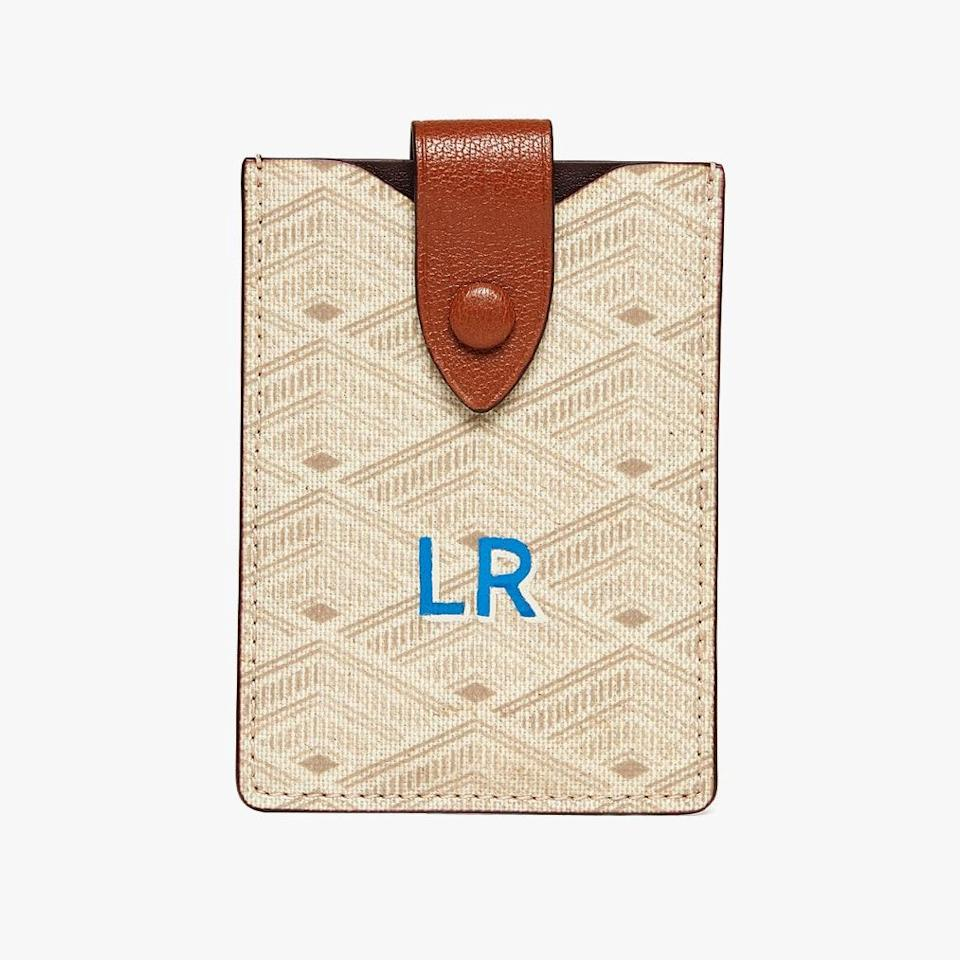 "$225, METIER LONDON. <a href=""https://us.metierlondon.com/products/small-wallet-signature-canvas-light-w"" rel=""nofollow noopener"" target=""_blank"" data-ylk=""slk:Get it now!"" class=""link rapid-noclick-resp"">Get it now!</a>"