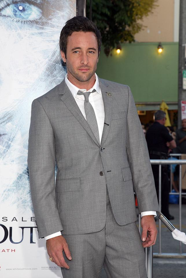 "<a href=""http://movies.yahoo.com/movie/contributor/1809670545"">Alex O'Loughlin</a> at the Los Angeles premiere of <a href=""http://movies.yahoo.com/movie/1809839458/info"">Whiteout</a> - 09/09/2009"