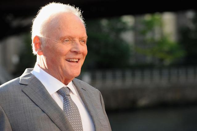 Anthony Hopkins and his daughter have a complicated relationship. (Photo: Getty Images)