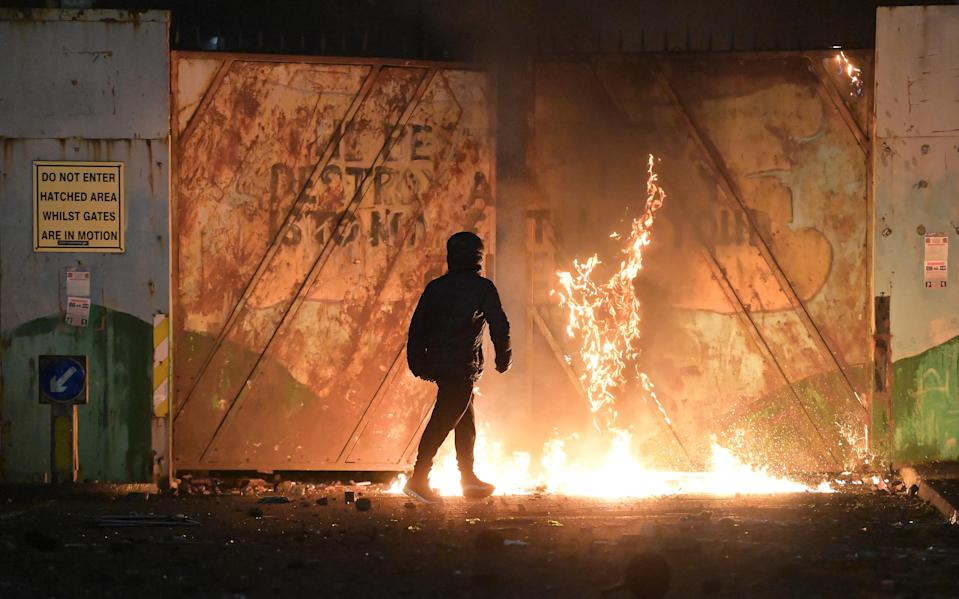 <p>Brexit has fanned the historical flames of discontent in Northern Ireland</p> (Getty)
