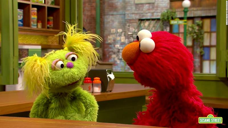 A 'Sesame Street' Muppet shares her mother's struggle with addiction