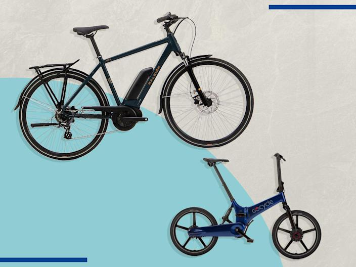<p>Foldable or solid-frame, there are plenty of e-bike options</p> (iStock/The Independent)