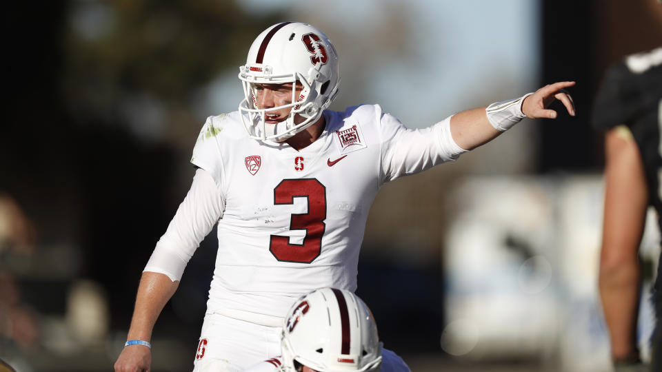 QB K.J. Costello should look quite different in a Mississippi State uniform. (AP Photo/David Zalubowski)