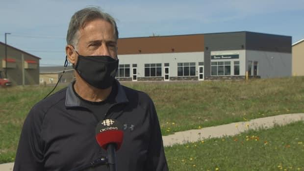 CUPE P.E.I. president Leonard Gallant says the union is in favour of a vaccinate-or-test policy being expanded to the school system — with some modifications. (Kerry Campbell/CBC - image credit)