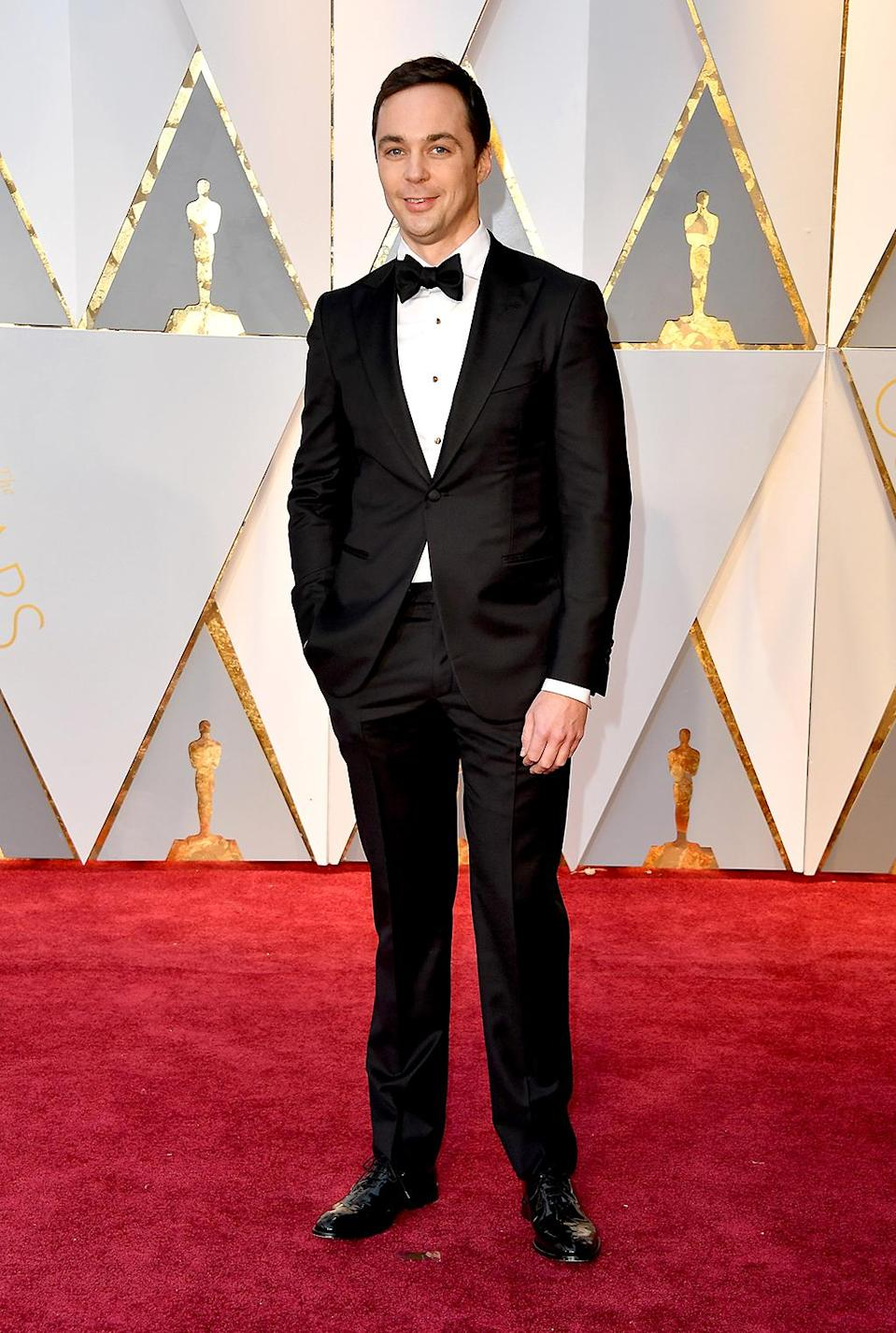<p>Actor Jim Parsons attends the 89th Annual Academy Awards at Hollywood & Highland Center on February 26, 2017 in Hollywood, California. (Photo by Steve Granitz/WireImage) </p>