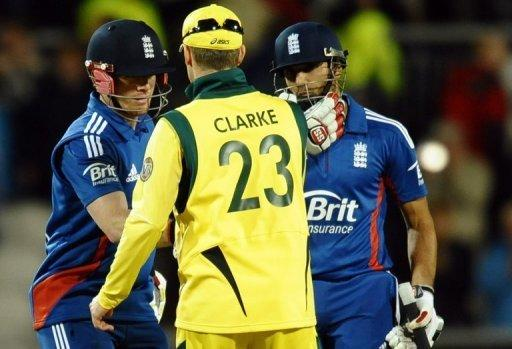 """They've outplayed us in all four matches,"" Clarke said of England"