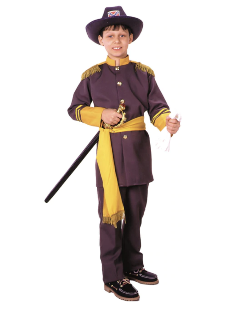 This Rubies Robert E. Lee costume for boys remains on sale despite controversy over other Confederate get-ups. (Photo: Halloween Express)