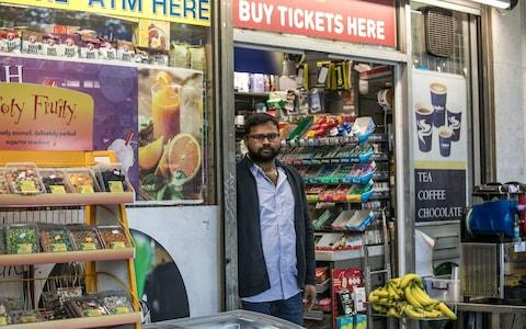 Pandi Raj says that people have stolen from his convenience store - Credit: Jeff Gilbert