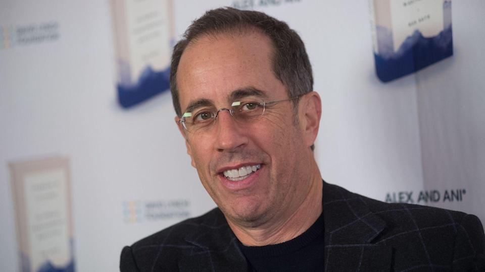 """<p>Like Romano, Jerry Seinfeld was a stand-up comic before he became a sitcom star. Seinfeld created, wrote and starred in his namesake show from 1989 to 1998, and by the ninth season, he was earning about $1 million per episode, The New York Times reported.</p> <p><a href=""""https://www.gobankingrates.com/net-worth/celebrities/much-jerry-seinfeld-worth/?utm_campaign=1047087&utm_source=yahoo.com&utm_content=54"""" rel=""""nofollow noopener"""" target=""""_blank"""" data-ylk=""""slk:Click through to see how much Seinfeld is now worth."""" class=""""link rapid-noclick-resp"""">Click through to see how much Seinfeld is now worth.</a></p> <p><em><strong>Big Tippers: <a href=""""https://www.gobankingrates.com/money/wealth/celebrities-who-left-big-tips/?utm_campaign=1047087&utm_source=yahoo.com&utm_content=55"""" rel=""""nofollow noopener"""" target=""""_blank"""" data-ylk=""""slk:20 Celebs Who've Left Generous Tips"""" class=""""link rapid-noclick-resp"""">20 Celebs Who've Left Generous Tips</a></strong></em></p> <p><small>Image Credits: Erik Pendzich/Shutterstock</small></p>"""