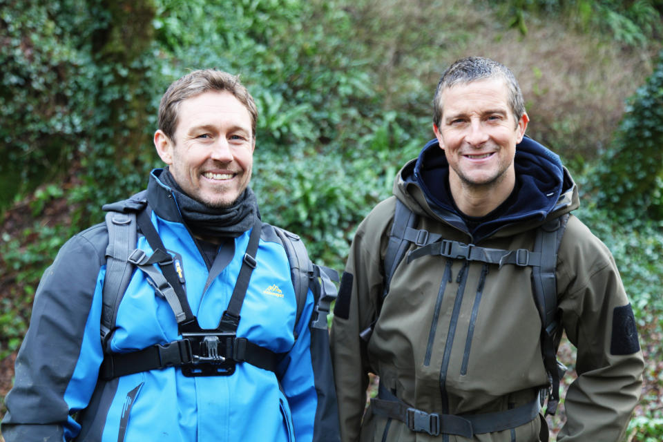 Bear & Jonny Wilkinson's Wild Adventure on ITV. (ITV)
