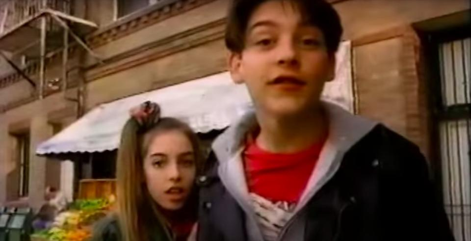 Tobey Maguire in Twister Juice ad