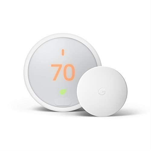"<p><strong>Nest</strong></p><p>amazon.com</p><p><strong>$182.99</strong></p><p><a href=""https://www.amazon.com/dp/B08J5DB349?tag=syn-yahoo-20&ascsubtag=%5Bartid%7C10055.g.28800544%5Bsrc%7Cyahoo-us"" rel=""nofollow noopener"" target=""_blank"" data-ylk=""slk:Shop Now"" class=""link rapid-noclick-resp"">Shop Now</a></p><p>The Nest E smart thermostat has most of the same feature-set of its more expensive counterpart, just in a more affordable design. <strong>Think helpful attributes like geofencing, alerts and energy tracking. Consumer feedback on the frosted display was split – some found it really aesthetic and appealing, others found it difficult to read.</strong> And if your home doesn't have a C-wire, you might have to bring in a professional to install one. </p>"