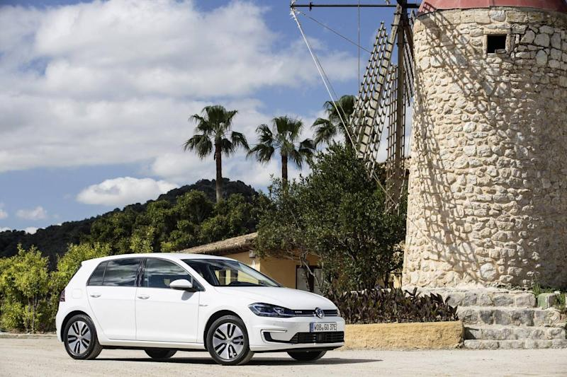 The Volkswagen e-Golf is an electric version of the traditional model (Volkswagen AG)