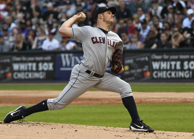 Indians' Bauer out 4 to 6 weeks with leg fracture