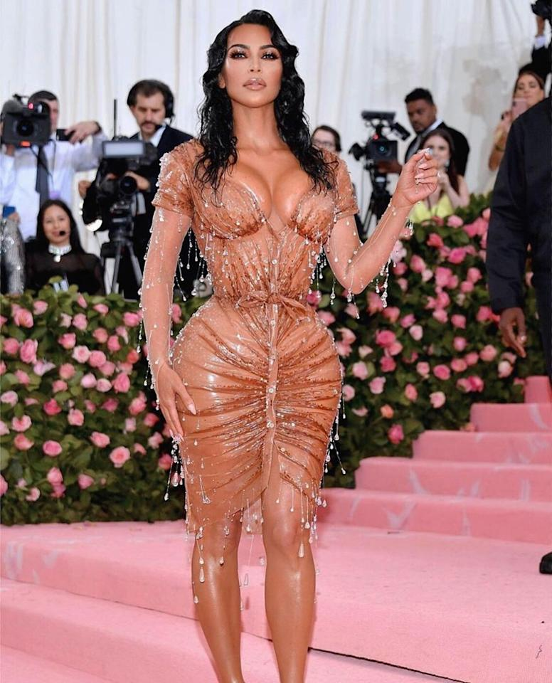 <em>Kim Kardashian</em>: The Kardashian beauty has a perfect body figure, but her hips have made many go for a routine gym. Kim has reportedly got her butt insured for $21 million. (Image: Instagram)