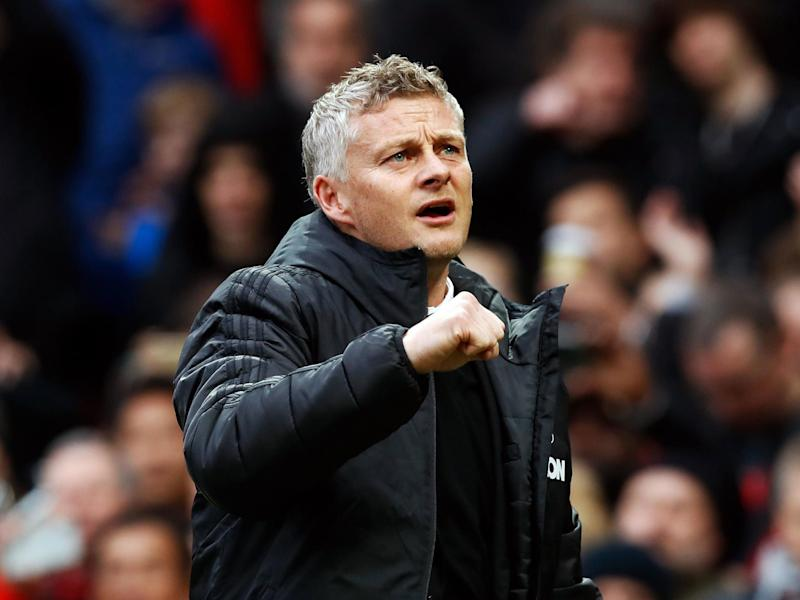 It was an encouraging evening for Ole Gunnar Solskjaer: PA