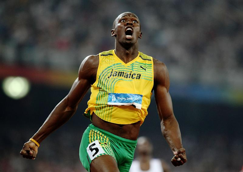competes in the track and field athletics event at the National Stadium during Day 12 of the Beijing 2008 Olympic Games on August 20, 2008 in Beijing, China.