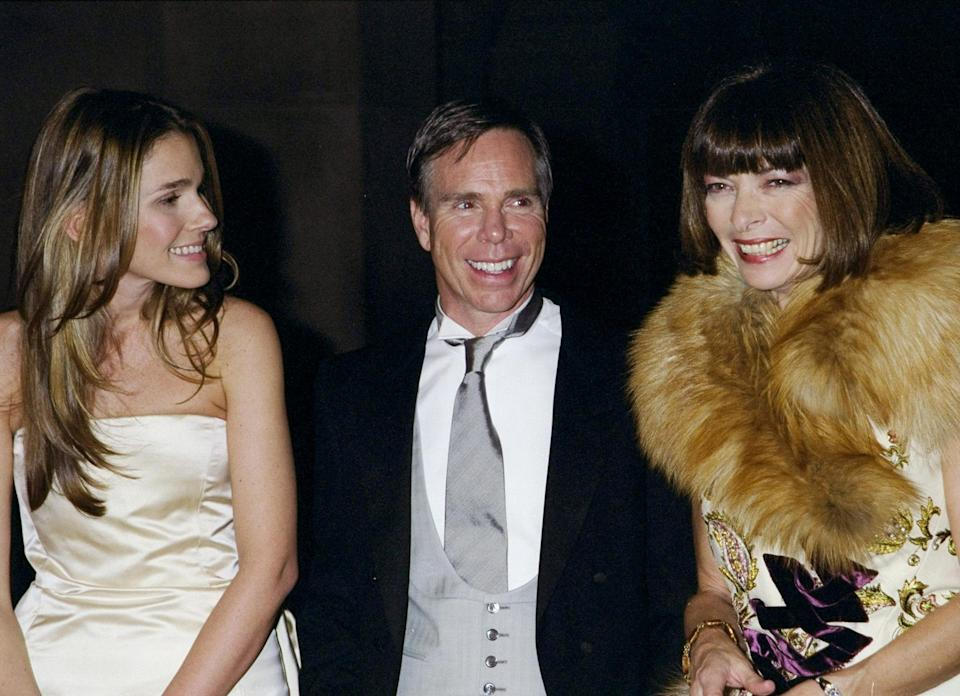 <p><strong>The theme: </strong>Rock Style </p> <p><strong>The co-chairs: </strong>Aerin Lauder, Tommy Hilfiger and Anna Wintour</p>