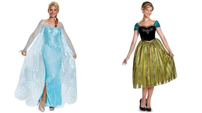 Sisters or BFFs will love these costumes.