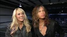 Carrie Underwood and Steven Tyler speak with Access Hollywood, February 2, 2012 -- Access Hollywood