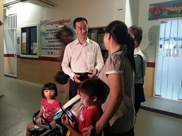 Dr Koh Poh Koon is confident in his camapgin for Punggol East SMC. (Yahoo! photo)