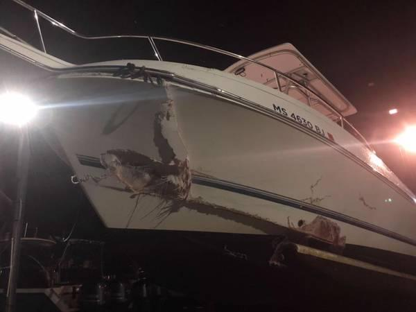 Police Officers Help Save 5 From Wareham Boat Crash
