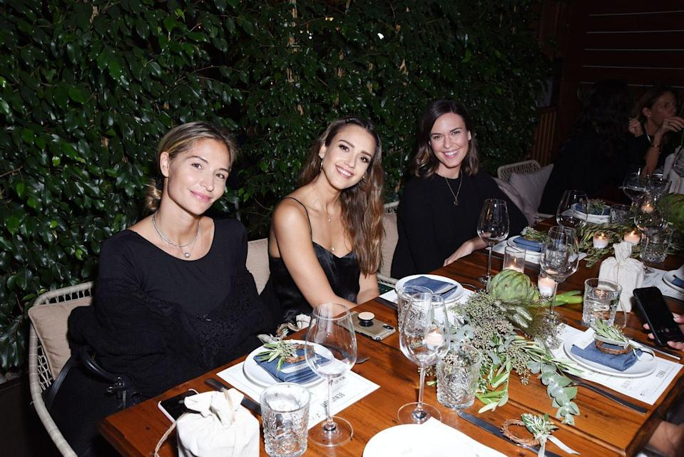 "<p>Everyone has one, and Jessica says it's perfectly okay. 'My guilty pleasure is, like, nachos,' she told <a href=""https://www.byrdie.com/jessica-alba-diet-fitness-tips"" rel=""nofollow noopener"" target=""_blank"" data-ylk=""slk:Byrdie"" class=""link rapid-noclick-resp"">Byrdie</a>. 'I'll choose nachos before an ice cream sundae.'<br></p>"