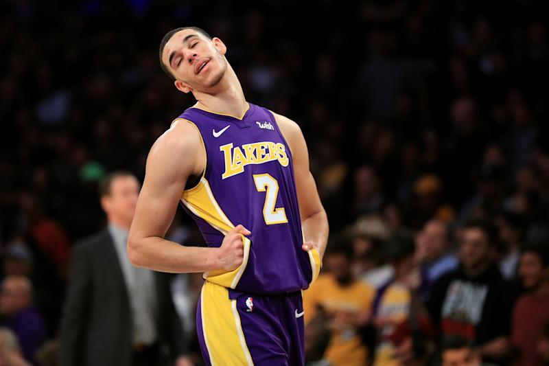 Lonzo Ball to be sidelined at least least one week
