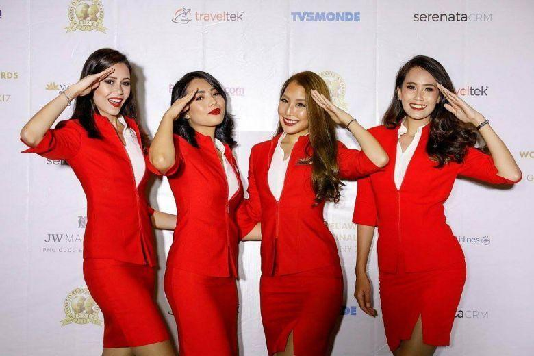 Budget airline AirAsia is under fire for its 'sexy' uniforms. Source: AirAsia