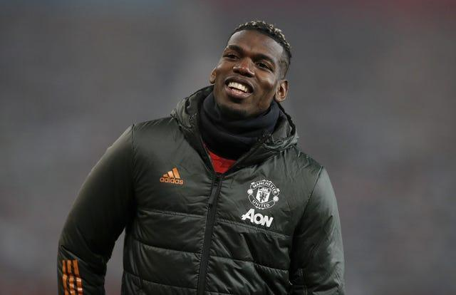 Pogba appears to be enjoying life at Old Trafford again