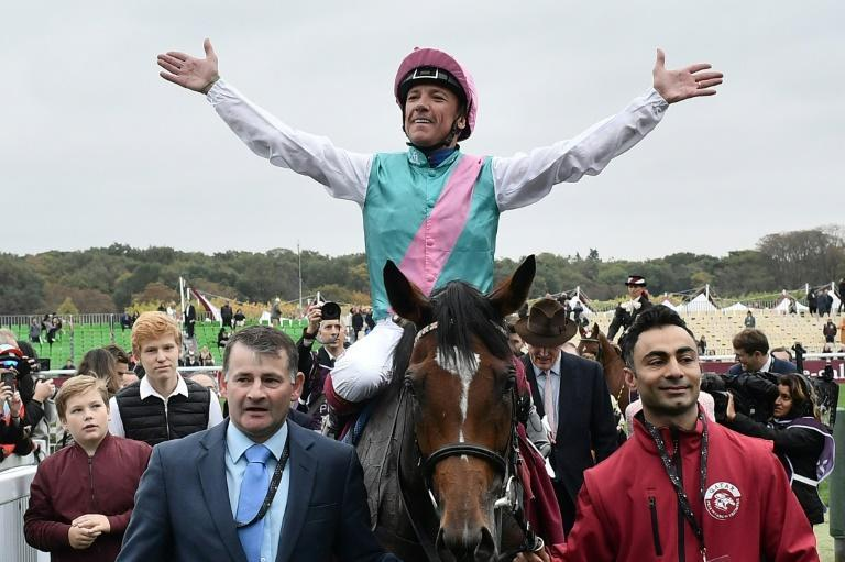 Two-time Arc winner Enable, ridden by Frankie Dettori, was one of several outstanding race horses owned and bred by Prince Khalid Abdullah